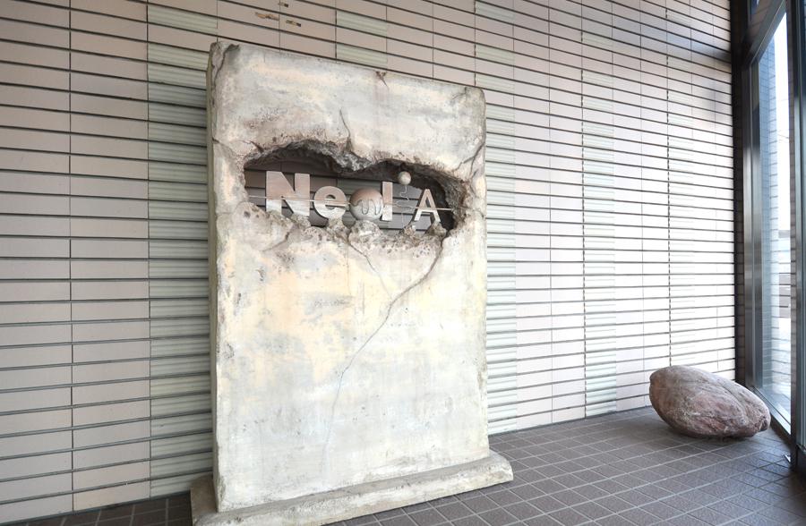 ネディアの玄関回り