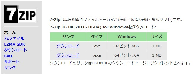 解凍 文字化け 7zip